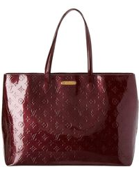 Louis Vuitton - Red Monogram Vernis Leather Wilshire Mm - Lyst