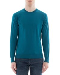 Paolo Pecora - Men's Green Cotton Sweatshirt - Lyst