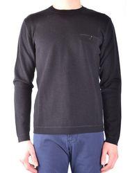 Paolo Pecora - Men's Black Wool Sweater - Lyst