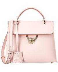 Ferragamo - Mini Vara Bow Leather Shoulder Bag - Lyst