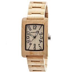Earth Wood - Trunk Bracelet Watch - Lyst