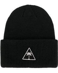 Palm Angels - Men's Black Acrylic Hat - Lyst