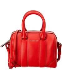 Givenchy   Lucrezia Micro Leather Duffle   Lyst