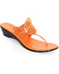 Dezario - Free Butterfly Thong Sandal - Lyst