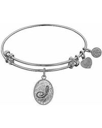 Angelica - Initial Bangle- I - Lyst