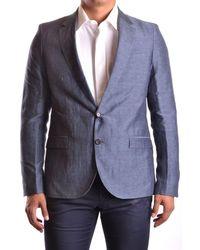 CoSTUME NATIONAL - Men's Mcbi074018o Grey Linen Suit - Lyst