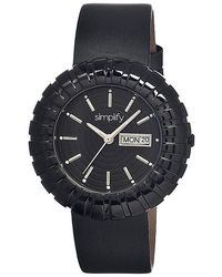 Simplify - The 2100 Leather-band Watch - Lyst