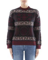 Ballantyne - Women's Multicolour Wool Jumper - Lyst