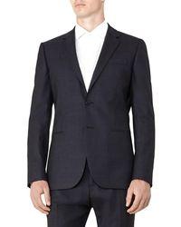 Reiss - Judge B Modern Fit Wool Jacket - Lyst