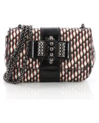 Christian Louboutin - Pre Owned Sweet Charity Crossbody Bag Printed Leather Mini - Lyst