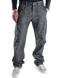Mauro Grifoni - Men's Grey Cotton Pants - Lyst