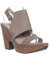 Naya - Misty Slingback Wedge Sandals, Frappe - Lyst