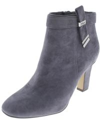 Lauren by Ralph Lauren - Womens Brin Padded Insole Ankle Booties - Lyst