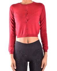 RED Valentino - Women's Red Cashmere Cardigan - Lyst