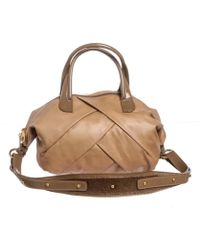Marc By Marc Jacobs - Pre Owned- Tan Leather Satchel Handbag - Lyst