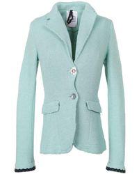 De'Hart - Women's Green Cotton Blazer - Lyst