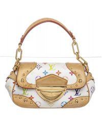 Louis Vuitton - White Multicolor Monogram Marilyn Handbag - Lyst