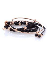Guess - Women's Black Metal Bracelet - Lyst