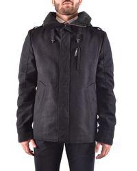 CoSTUME NATIONAL - Men's Black Wool Outerwear Jacket - Lyst
