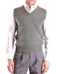 Zanone - Men's Mcbi373003o Green Cotton Vest - Lyst