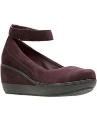 Clarks - Women's Wynnmere Fox Wedge - Lyst