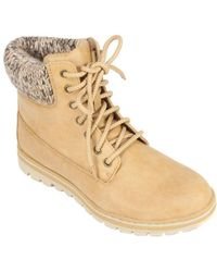 White Mountain Footwear - Women's Kudrow Sweater Knit Hiker - Lyst