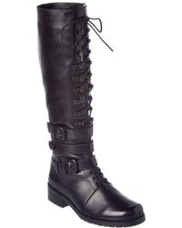Stuart Weitzman - Policelady Leather Boot - Lyst