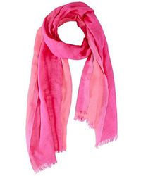 Saachi - Two Toned Stripped Scarf - Lyst