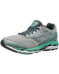 Mizuno - Womens Wave Paradox 2 Low Top Lace Up Running Sneaker - Lyst