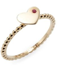Marc By Marc Jacobs - Jewellery Heart Ring - Lyst