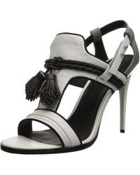 L.A.M.B. - Womens Voice Open Toe Ankle Strap Classic Pumps - Lyst