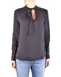 Jacob Cohen - Women's Black Viscose Blouse - Lyst