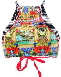 Phax - High Neck Swimsuit Havana Feel Multicolour - Lyst