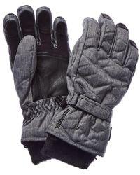 Rossignol - Judy Impr Waterproof Leather-trim Glove - Lyst
