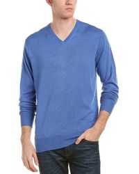 Peter Millar - Crown Soft Wool & Silk-blend Sweater - Lyst