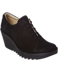 Fly London - Yumi Suede Wedge Bootie - Lyst