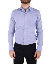 Emanuel Ungaro - Men's Light Blue Cotton Shirt - Lyst