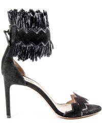 Alaïa - Womens Ankle Strap Sandal - Lyst