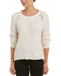 Fate - Lace-up Sweater - Lyst