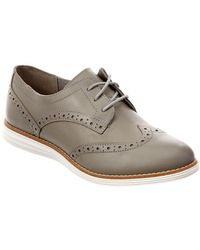 Cole Haan - Original Grand Leather Wingtip Oxford, 8.5, Grey - Lyst