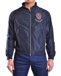 Hydrogen - Men's Blue Polyester Outerwear Jacket - Lyst
