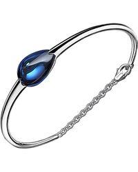 Baccarat - Fleurs De Psydelic Silver Crystal Bracelet - Lyst