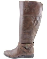Marc Fisher - Womens Amber Leather Closed Toe Knee High Fashion Boots - Lyst