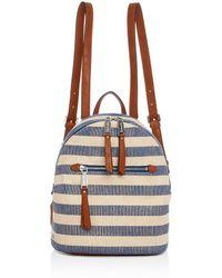 Splendid - Womens Metallic Mini Backpack - Lyst