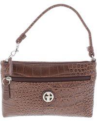 Giani Bernini - Womens Embossed Pouch Wristlet Handbag - Lyst