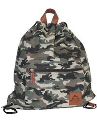 Polo Ralph Lauren. Camouflage Canvas Backpack.  205. Selfridges · Buxton -  Men s Expedition Ii Huntington Gear Drawstring Backpack - Lyst b027a1dc5030f