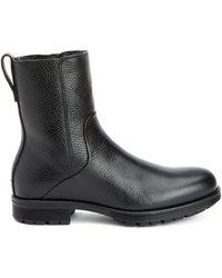 Aquatalia - Locke Waterproof Leather Shearling Boot - Lyst
