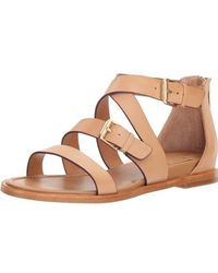 Isola - Womens Sharni Leather Open Toe Casual Strappy Sandals - Lyst