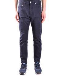 Paolo Pecora - Men's Blue Cotton Jeans - Lyst