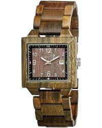 Earth Wood - Culm Bracelet Watch - Lyst